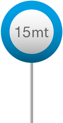 15 mt blu