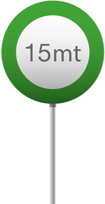 15 mt verde