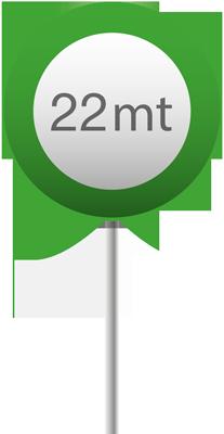 22 mt verde