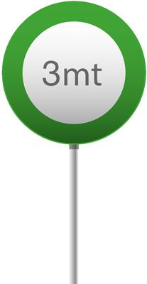 3 mt verde