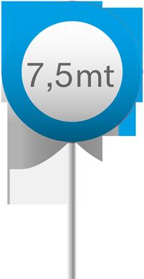 5-7 mt blu